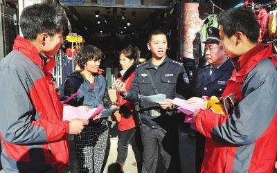 149团农业公司二区大力开展冬季防火防盗安全宣传教育活动