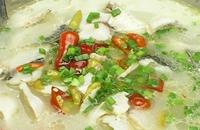 酸菜煮水豆腐 湖南湘西凤凰县特产美食