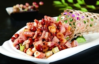 重庆渝中区特产美食:怪味兔丁(图片)