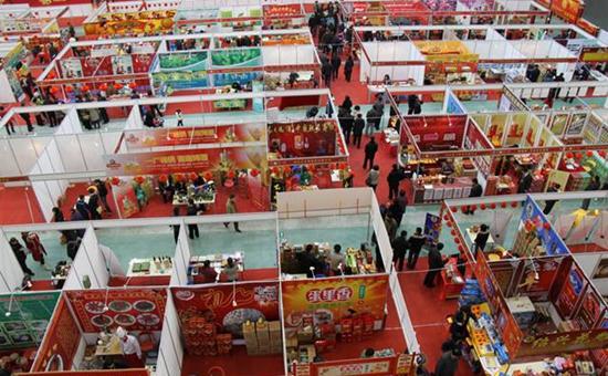 """上海:年货展销会开始启动 农产品纷纷抢占""""滩头"""""""