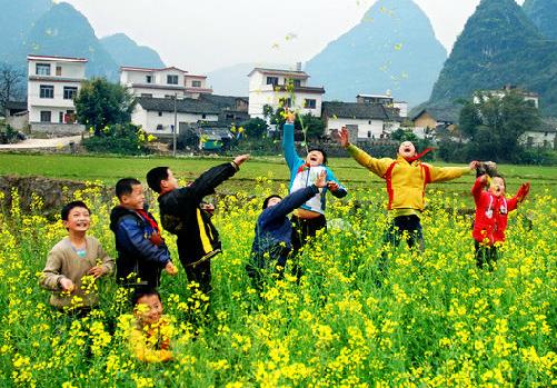 江西横峰县:大力发展绿色生态农业 打造农业休闲旅游观光带