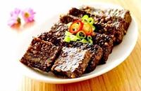 宁夏中卫海原县特产美食:煎猪脏