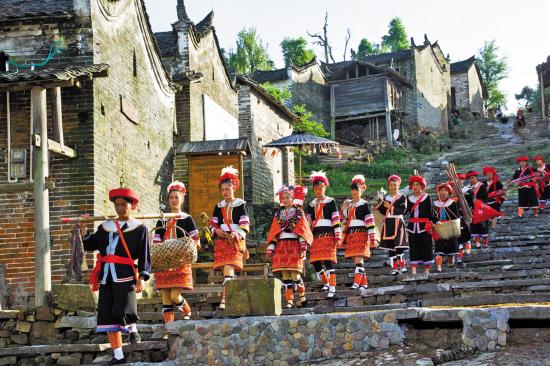 贵州:投入1.8亿元扶持500个少数民族特色村寨