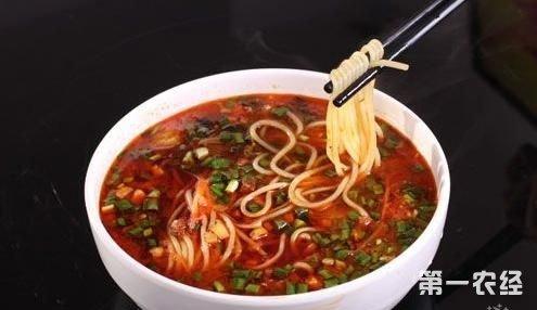 河间饸饹面  河北省沧州市特产美食
