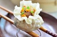 辽宁营口老边特产美食:糯米烧卖