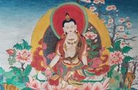 白嘎寺唐卡  西藏那曲市比如县特产