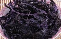 广东江门市台山特产海产品:铜鼓紫菜