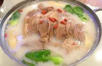 海南定安特产美食:羊肉汤锅(图片)