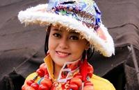 西藏林芝特产:朗县藏帽