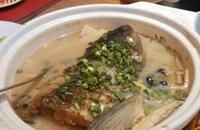 天津特产美食:糟香鱼头云做法