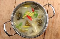 辽宁锦州特产美食:酸菜火锅