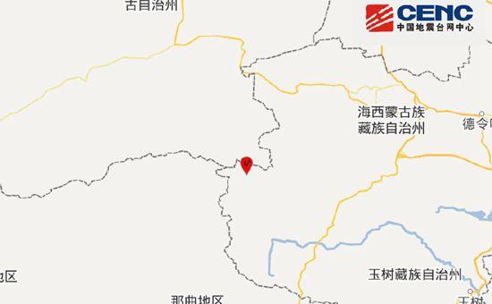 青海玉树州治多县发生3.3级地震 震源深度9千米