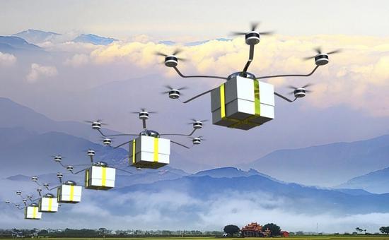 陕西:无人机助力边远地区农产品流通