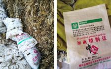 新疆:以饲料盐为原料制售假食盐 执法人员捣毁一制售假盐黑窝点