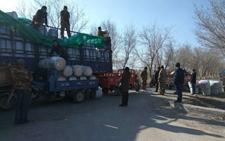 新疆八师149团农业二区组织职工做好春耕春播物资储备工作