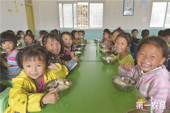 贵州农村学生营养餐