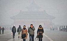 北京:PM2.5浓度达五级重度污染 沙尘天气将明显影响人民生活
