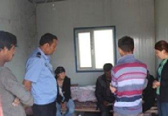 新疆兵团八师149团农业二区做好流动人口排查工作