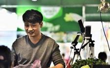 安徽合肥:大学生网络直播卖菜月收入超白领