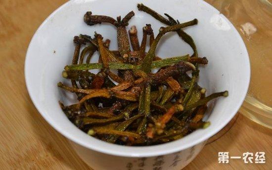 螃蟹脚茶的制作方法