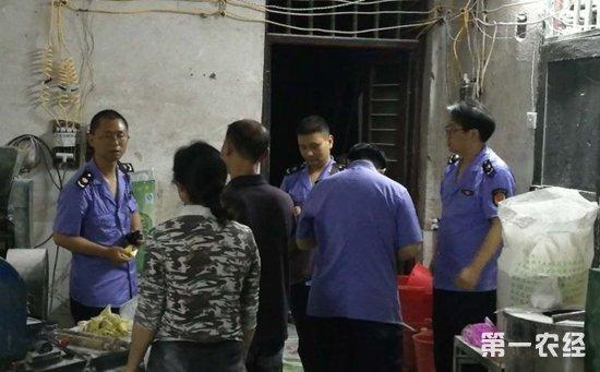 湖南邵东:卫生脏乱无证无照  一加工面食非法小作坊被查封
