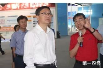 北京代市长考察三聚环保展区