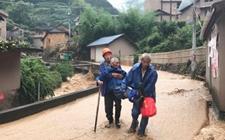 浙江丽水:多日强降雨导致数条公路中断