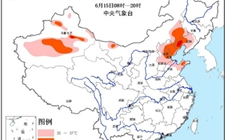 全国高温黄色预警:京津翼内蒙辽宁等多地气温达35℃以上