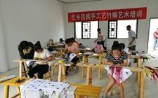 贵州一农村夫妇利用竹丝编织出了不一样的致富路