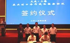 大连:与上海签订农业对口合作战略协议