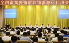 国务院副总理汪洋出席全国畜禽养殖废弃物资源化利用会议
