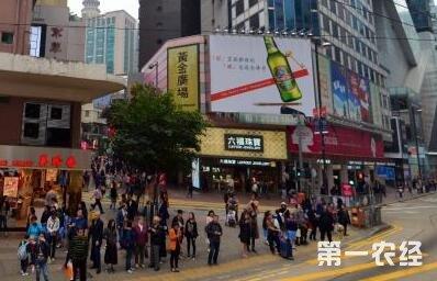 可以说陪伴青岛啤酒一路走来,看着它在香港越卖越好.