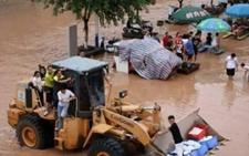 湖南宁乡特大洪灾:水深1米才被通知撤退 数千商户损失惨重