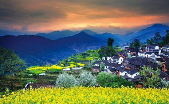 """江西婺源:生态环境环境造就""""中国最美乡村"""""""