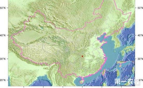 重庆巫山发生3.3级地震