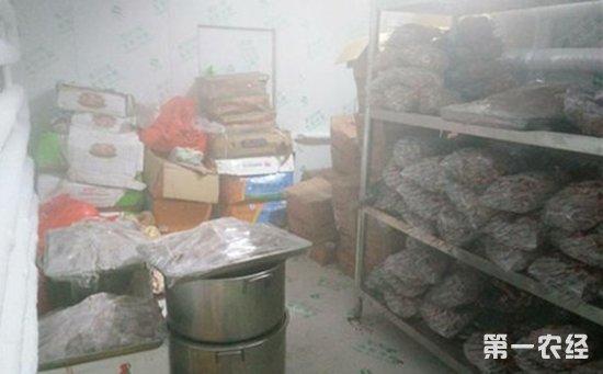 """南京:""""羊肉串""""用上了羊肉增香膏  居民楼里食品""""黑作坊""""被连锅端"""