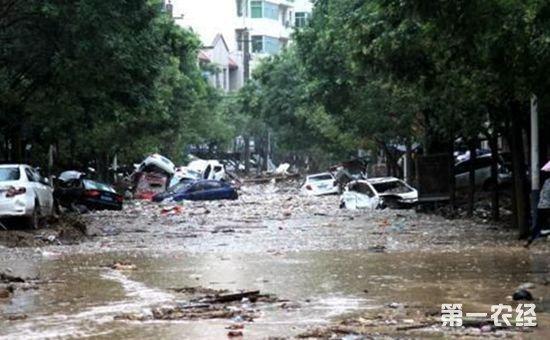 陕西榆林洪灾抢险救援进入尾声