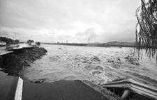 辽宁遭遇500年一遇洪水 最大降雨量达506毫米