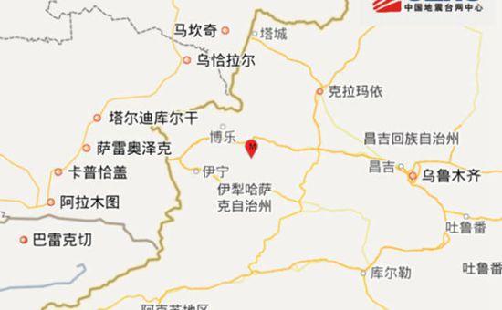 新疆精河县6.6级地震 已致32人受伤