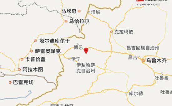 新疆精河县发生6.6级地震 震源深度11千米