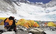 珠穆朗玛峰脚下开出美丽的旅游致富花