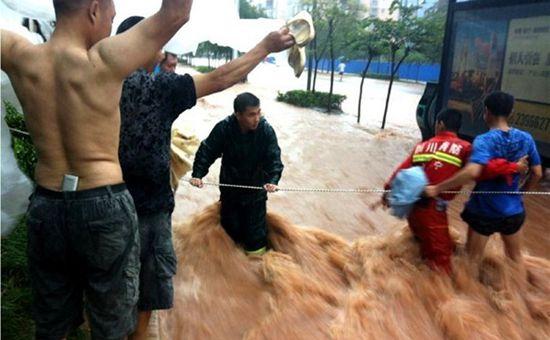 <b>四川云南等地遭强降雨袭击 已致5人死亡</b>