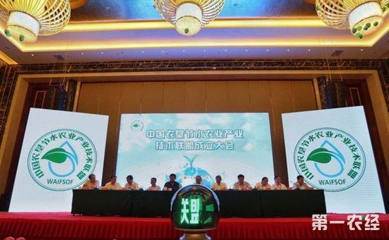 中国农垦节水农业产业技术联盟6日在新疆成立