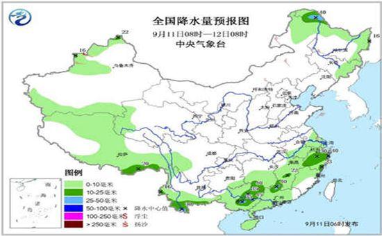 未来三天 全国无大范围明显降水过程