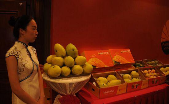 四川攀枝花芒果品牌发布推介会在北京举行