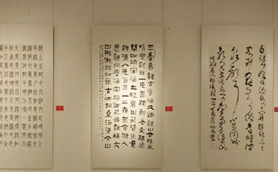 <b>河北省首届农民书法展在石家庄举行</b>