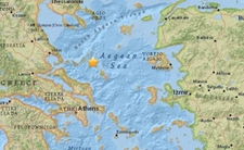 <b>希腊阿洛尼索斯岛附近海域发生5.1级地震</b>