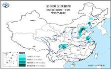 受冷空气影响北方多地出现降温 京津冀部分地区有重度霾