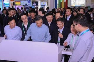 <b>双新双创农业博览会 副总理查看佳格天地研发的云平台系统</b>