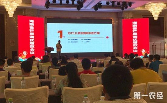 2017年海南芒果调优增效会议在三亚市成功举办